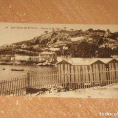 Postales: POSTAL DE SAN FELIU DE GUIXOLS. Lote 278317073