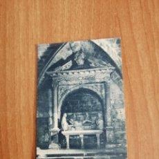 Postales: POSTAL MONASTIR DE POBLET CAPELLA DE SANT SEPULCRE A LA GALILEA SIN CIRCULAR. Lote 278443288