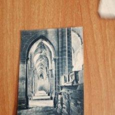 Postales: POSTAL MONASTIR DE POBLET NAU LATERAL DE MIGDIA DE LA IGLESIA SIN CIRCULAR. Lote 278443358