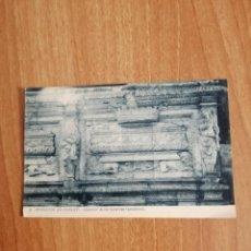 Postales: POSTAL MONASTIR DE POBLET EXTERIOR DE LES CAMBRES SEPULCRALS SIN CIRCULAR. Lote 278443903