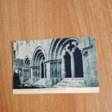Postales: POSTAL MONASTIR DE POBLET FINESTRALS DE AULA CAPITULAR SIN CIRCULAR. Lote 278443998