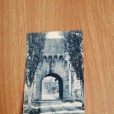 Postales: POSTAL MONASTIR DE POBLET PORTA DAURADA SIN CIRCULAR. Lote 278444128