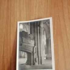 Postales: POSTAL POBLET DETALLE DEL ARCO DE LAS SEPULTURAS REALES SIN CIRCULAR. Lote 278444578