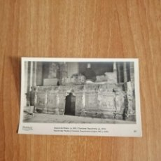 Postales: POSTAL POBLET SEPULTURAS REALESY CAMARAS SEPULCRALES SIN CIRCULAR. Lote 278444728