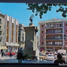 Postales: FIGUERAS, MONUMENTO A MONTURIOL, POSTAL CIRCULADA DE LOS AÑOS 60. Lote 278470598