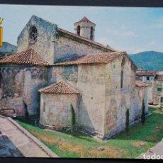 Postales: BESALÚ, IGLESIA ROMANICA, ANTIGUA POSTAL SIN CIRCULAR. Lote 278471573