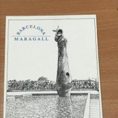 Postales: POSTAL PARC JOAN MIRÒ BARCELONA EMPRIUS - CLUB D'OPINIÓ. Lote 278473433