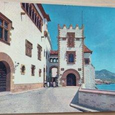 Postales: POSTAL SITGES BARRIO DE MARICEL. Lote 278481383