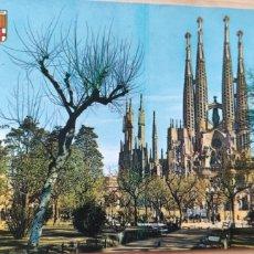Postales: POSTAL BARCELONA TEMPLO SAGRADA FAMILIA. 6. Lote 278481993