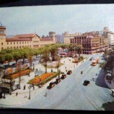 Cartoline: POSTAL * BARCELONA , PL. UNIVERSITAT * FOTOCOLOR FERRÀNDIZ 1959. Lote 278641388