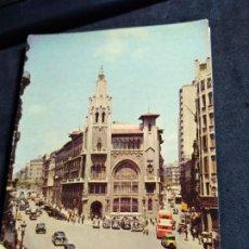Cartoline: POSTAL * BARCELONA , VIA LAIETANA * FOTOCOLOR FERRÀNDIZ 1959. Lote 278641463