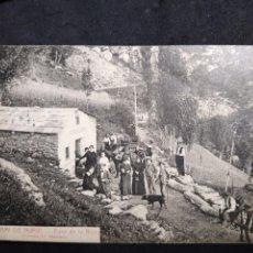 Postales: POSTAL ANY 1926 * CAMI DE NÚRIA , FONT DE LA ROIRA * ROISIN 3. Lote 278702608
