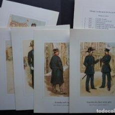 Postales: POSTALES GRAN FORMATO DE LA GUARDIA URBANA DE BARCELONA , VER FOTOS Y COMENTARIOS. Lote 278704138