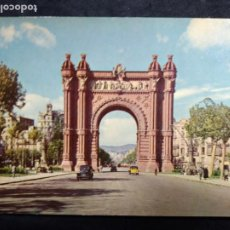 Cartoline: POSTAL * BARCELONA , ARC DE TRIOMP * FOTOCOLOR FERRÀNDIZ 1959. Lote 278805208