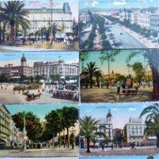 Postales: P-12847. BARCELONA. 10 POSTALES . FOTOG. ED. JORGE VENINI COLOREADAS. NO CIRCULADAS . PPIOS S. XX.. Lote 278816533