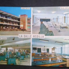 Cartoline: POSTAL * BARCELONA , LA SALLE HEDILLA ,INSTITUTO FILIAL - ESCUELA PROFESIONAL *1967. Lote 279058888