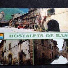 Postales: POSTAL * HOSTALETS DE BAS ,VISTES * 1989. Lote 296783518