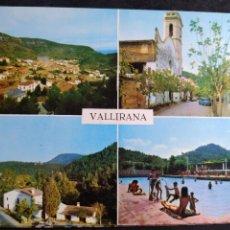 Postales: POSTAL * VALLIRANA , VISTES * 1966. Lote 296415638