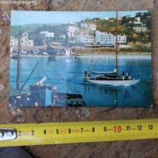 Postales: POSTAL DE ARENYS DE MAR DE 1962, PUERTO. SERIE II Nº575. C/CONCEPCIÓ ARENAL 56 BARCELONA. Lote 280119628