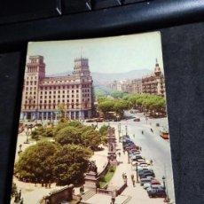 Postales: POSTAL * BARCELONA , PL. CATALUNYA * FOTOCOLOR FERRÀNDIZ 1959. Lote 280129743
