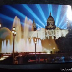 Postales: POSTAL * BARCELONA , FONTS MONTJUIC , PALAU NACIONAL * 1967. Lote 296781788