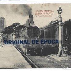Postales: (PS-66171)POSTAL DE MARTORELL-ESTACION M.Z.A.FOTO L.ROISIN. Lote 284524713