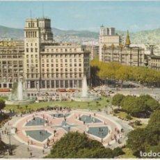 Postais: TARJETA POSTAL. 442 BARCELONA. PLAZA DE CATALUÑA. GARCÍA GARRABELLA.. Lote 284739728