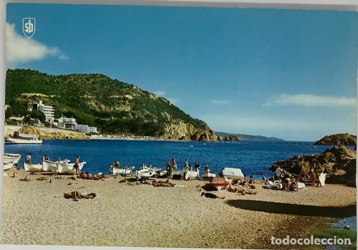 GERONA, GIRONA TOSSA DEL MAR. PLAYA. SB SIN CIRCULAR (Postales - España - Cataluña Moderna (desde 1940))