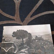 Postales: ANTIGUA POSTAL FOTOGRAFÍCA, EL TIBIDABO, BARCELONA. Lote 285409578