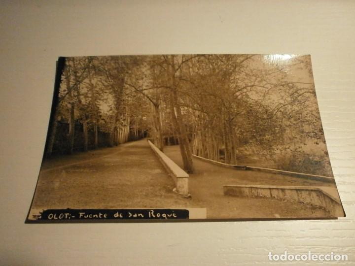 OLOT FUENTE DE SAN ROQUE (Postales - España - Cataluña Moderna (desde 1940))