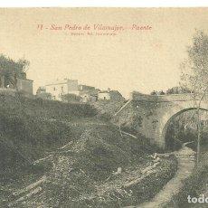 Postales: P1.- SAN PERE DE VILAMAJOR-PUENTE - FOTO ROISIN. Lote 286327608
