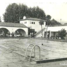 Postales: P1.- LA GARRIGA - PISCINAS - CIRCULADA EN LA GARRIGA AÑO 1959. Lote 286329423