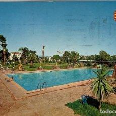 Postales: TARRAGONA, CAMBRILS PUEBLO ELDORADO PLAYA KOLORHAM. CIRCULADA.. Lote 286351628