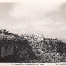Postales: POSTAL DE SIURANA (TARRAGONA) VISTA DES DELS CINGLES DEL COLLET DE PRADES- FOTDEP.FERRE -REUS - 18. Lote 287111868