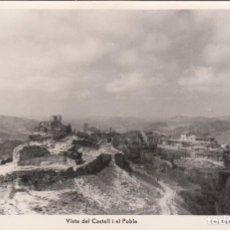 Postales: POSTAL DE SIURANA (TARRAGONA) VISTA DEL CASTELL I EL POBLE FOT. DEP.FERRE -REUS - 17. Lote 287111983