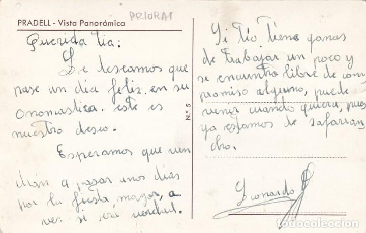Postales: POSTAL FOTOGRAFICA DE PRADELL DE LA TEIXETA (TARRAGONA)- VISTA PANORAMICA NUM. 5 - Foto 2 - 287120303