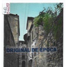 Postales: (PS-66288)POSTAL DE SOLSONA-CALLE REGATE.DETALLE. Lote 287495438