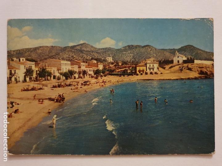 SITGES - PLATJA DE SANT SEBASTIÀ / PLAYA DE SAN SEBASTIÁN - P63305 (Postales - España - Cataluña Moderna (desde 1940))