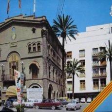 Cartes Postales: POSTAL * BADALONA , PL. JOSÉ ANTONIO PRIMO DE RIVERA, AJUNTAMENT * 1969. Lote 287883518