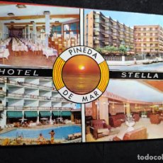 Cartes Postales: POSTAL * PINEDA DE MAR , HOTEL STELLA * 1975. Lote 287896583