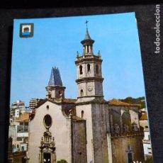 Cartes Postales: POSTAL * ARENYS DE MAR , ESGLÉSIA PARROQUIAL * 1968. Lote 287901483