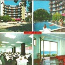Cartes Postales: POSTAL * CALELLA , HOTEL LAS ROCAS * 1971. Lote 287910778