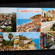 Cartes Postales: POSTAL * CALELLA , VISTES * 1972. Lote 287924513