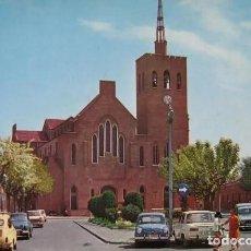 Cartes Postales: POSTAL * BADALONA, ESGLÉSIA ST.JOSEP * 1968. Lote 287965428