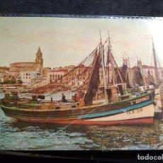 Postais: POSTAL * PALAMÓS , BARCA DE PESCA *1960. Lote 288041223