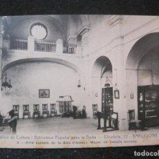 Postales: BARCELONA-INSTITUT DE CULTURA I BIBLIOTECA POPULAR PER LA DONA-SALA ACTES-ANDRES FABERT-(84.072). Lote 288084108