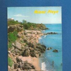 Postales: POSTAL CIRCULADA MIAMI PLAYA (MONTROIG) 13 TARRAGONA EDITA RAYMOND. Lote 288086308