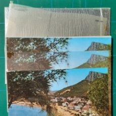 Postales: ESTARTIT Nº 503 VISTA PARCIAL / POSTAL /NEGATIVOS / PRUEBA COLOR / EURO-EDICIONES. Lote 288293233