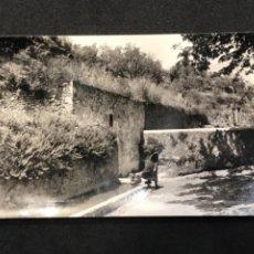 Postales: POSTAL FOTOGRÁFICA DE LA BISBAL DEL PENEDÈS N.7 FUENTE DEL TORRENTE. TARRAGONA.. Lote 288314903