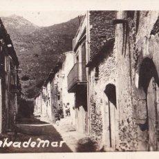 Postales: GIRONA, SELVA DE MAR. NO CONSTA EDITOR. POSTAL FOTOGRAFICA ESCRITA. Lote 288398533